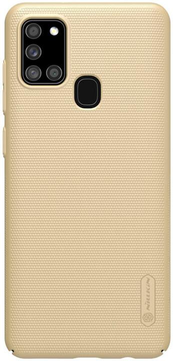 Nillkin zadní kryt Super Frosted pro Samsung Galaxy A21s, zlatá