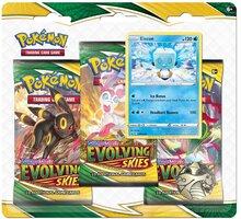 Karetní hra Pokémon TCG: Sword and Shield Evolving Skies - 3 Booster Pack Eiscue - 820650808814*EIS