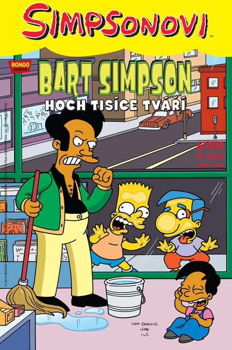 Komiks Bart Simpson: Hoch tisíce tváří, 6/2014