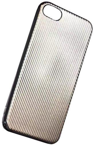 Forever silikonové (TPU) pouzdro pro Apple iPhone 6/6S, carbon/champagne