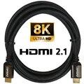Evolveo XXtremeCord, kabel HDMI 2.1, podpora 8K ULTRA HD, 4K, 2K a FHD, 48Gbps šířka pásma, 3m