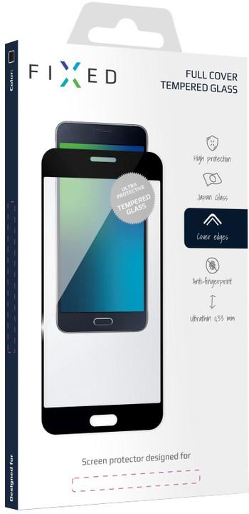 FIXED Full-Cover ochranné tvrzené sklo pro Xiaomi Redmi Note 5, přes celý displej, černé