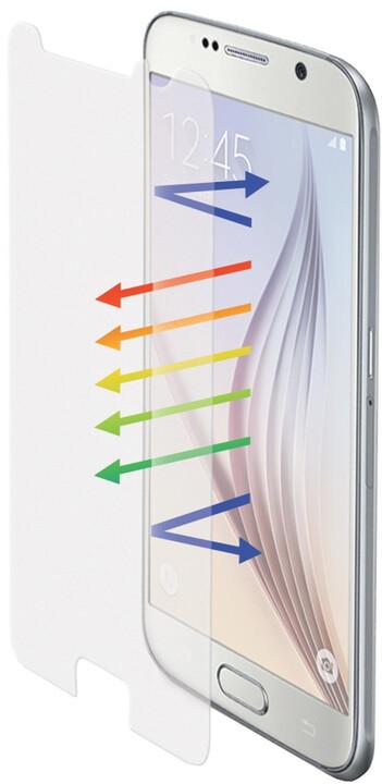 CELLY Glass ochranné tvrzené sklo pro Galaxy S6, matné