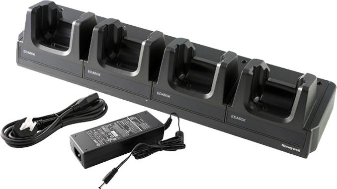 Honeywell nabíječka EDA60K, 4-místná, zdroj napájení + napájecí kabel