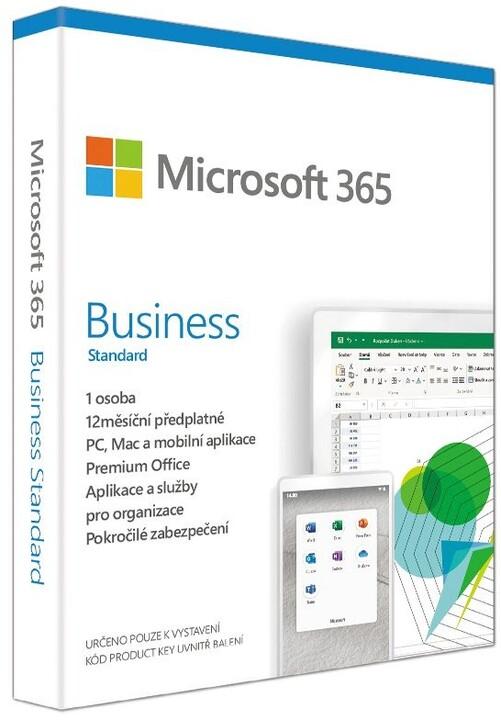 Microsoft 365 Business Standart 1 rok - pouze s PC