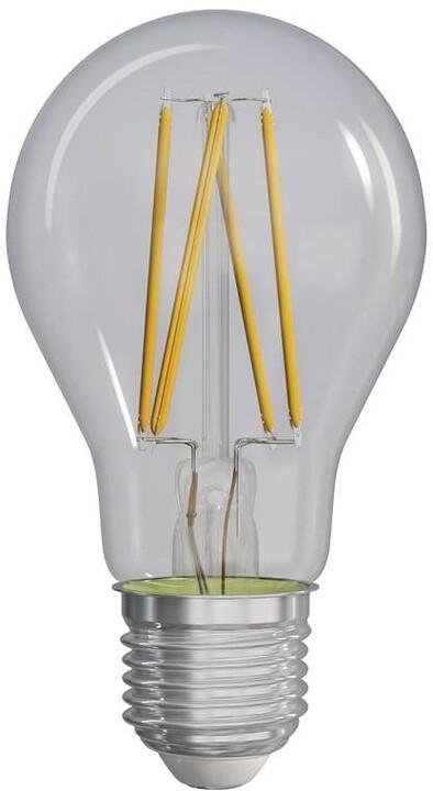 Emos LED žárovka Filament A60 A++ 8W E27, teplá bílá