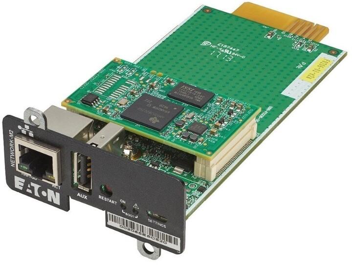 Eaton komunikační GLAN karta - 100/1000 (pro 5SC R, 5P, 5PX, 9E, 9PX, 9SX)