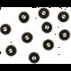 Sennheiser náhradní náušníky, řada CX3.00,CX5.00i,CX5.00G, L, černá