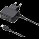 YENKEE YAC 2016BK Micro USB nabíječka 2A, černá  + Sencor SCL 2000 čistící sada 2v1 (v ceně 99 Kč)