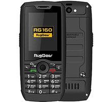 RugGear RG160, 0,5GB/4GB  + Elektronické předplatné čtiva v hodnotě 4 800 Kč na půl roku zdarma