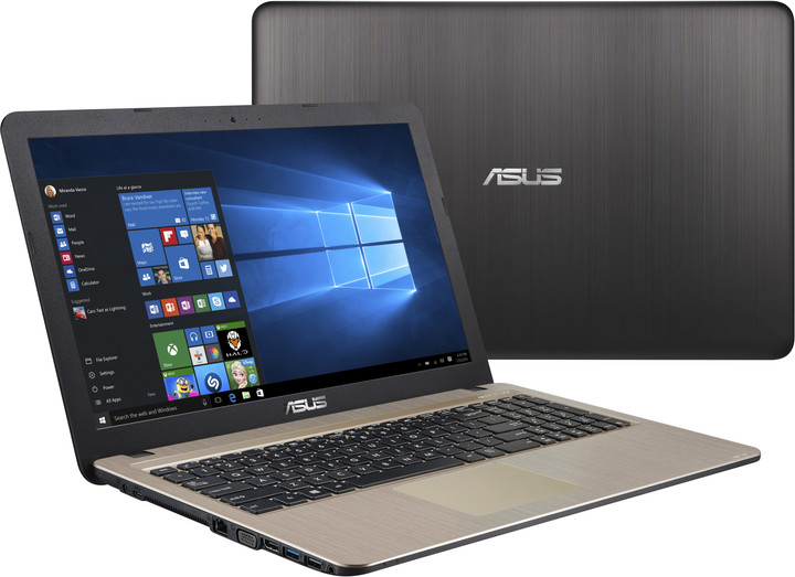 ASUS VivoBook 15 X540LA, zlatá