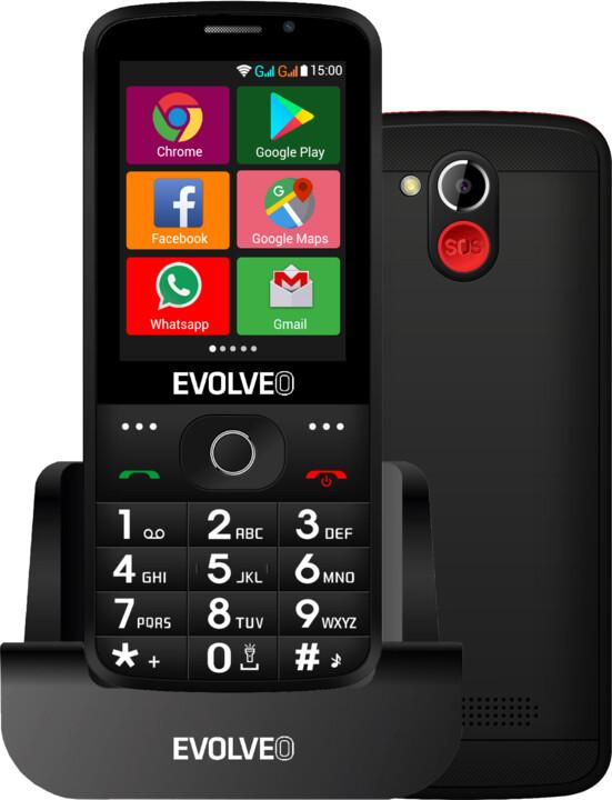 Evolveo EasyPhone AD, Black