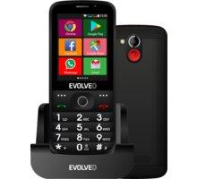 Evolveo EasyPhone AD, Black O2 TV Sport Pack na 3 měsíce (max. 1x na objednávku)