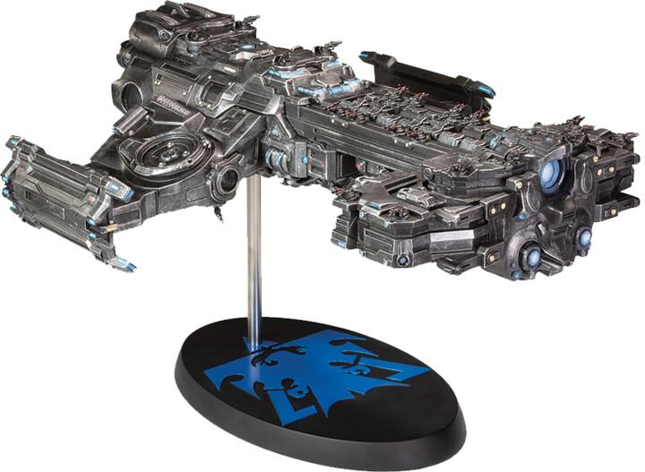 Figurka StarCraft - Terran Battlecruiser Mini Replica