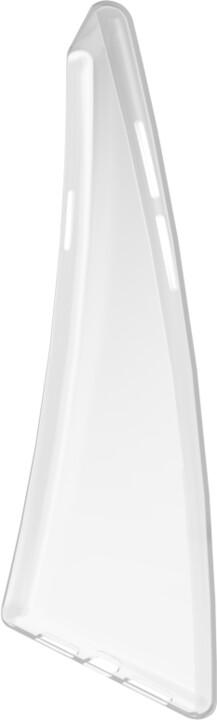 EPICO gelový kryt RONNY GLOSS pro OnePlus Nord, bílá transparentní