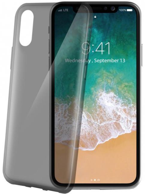 CELLY TPU pouzdro Ultrathin pro Apple iPhone X, černé