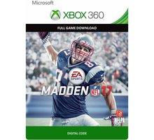 Madden NFL 17 (Xbox 360) - elektronicky - G3P-00087
