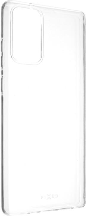 FIXED ultratenké TPU gelové pouzdro Skin pro Samsung Galaxy Note 20, 0.6mm, čirá