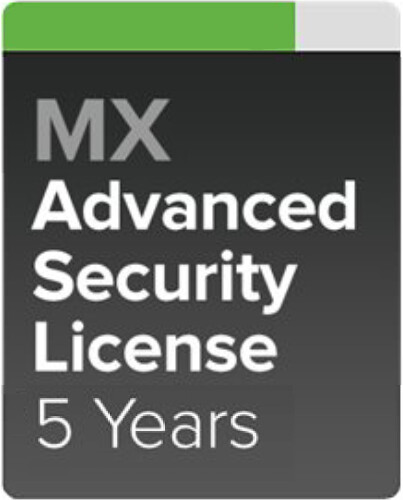 Cisco Meraki MX84-SEC Pokročilá ochrana a Podpora, 5 let