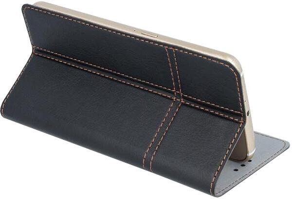 """Forever knížkové pouzdro (smartcase) typ a fold univerzální 4,8-5"""" - černé"""