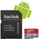 SanDisk Micro SDXC Ultra Android 200GB 100MB/s A1 UHS-I + SD adaptér