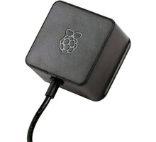 Raspberry Pi Napájecí adaptér RB-Netzteil4-B - 3A, pro Rpi 4, černý