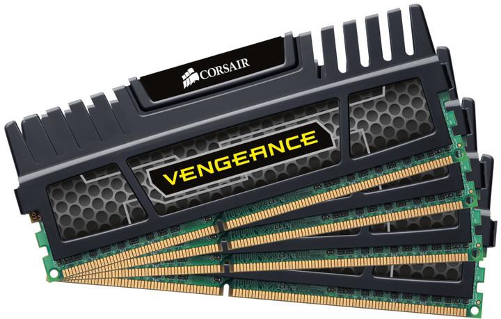 Corsair Vengeance Black 8GB (4x2GB) DDR3 1600