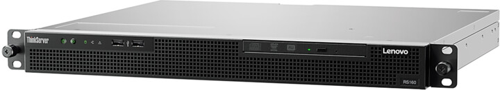 Lenovo ThinkServer RS160 /E3-1220v5/8GB/Bez HDD/300W