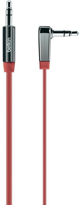 Belkin audio Jack 3,5mm M/M, 0.9m červená