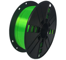 Gembird tisková struna (filament), PETG, 1,75mm, 1kg, zelená - 3DP-PETG1.75-01-G
