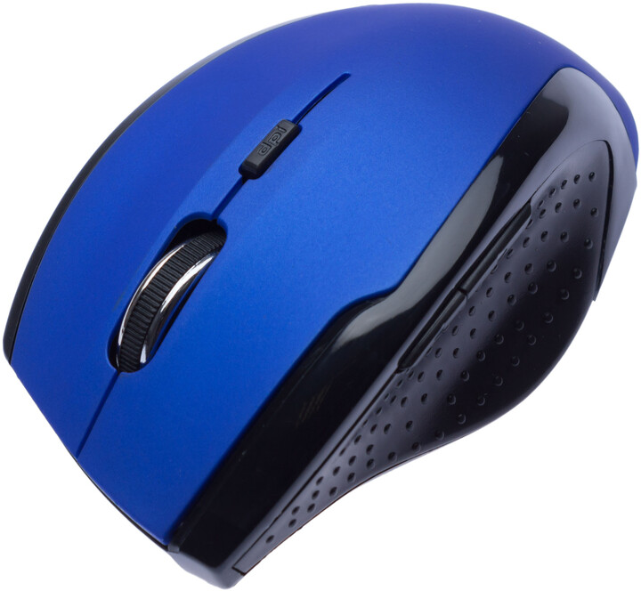 CONNECT IT bezdrátová optická myš V2, modrá