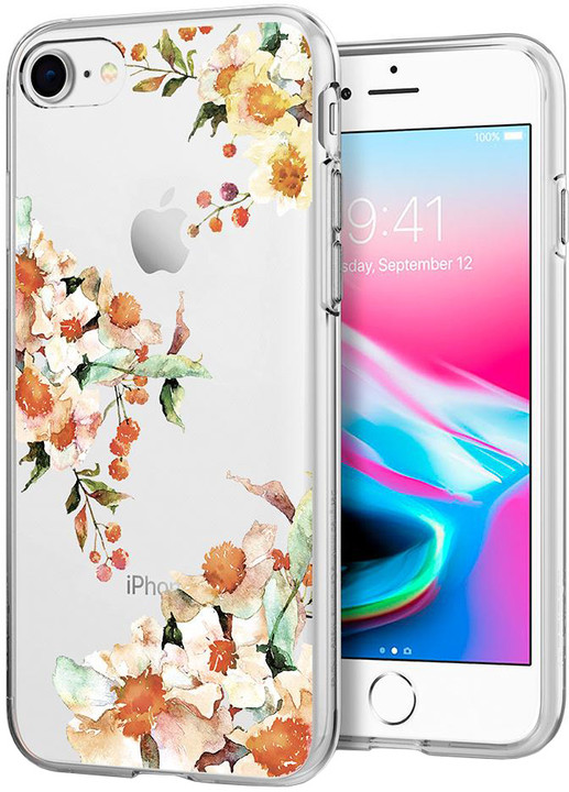 Spigen Liquid Crystal Aquarelle pro iPhone 7/8, primrose