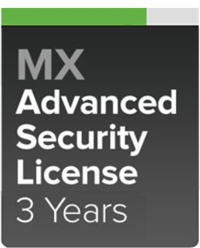 Cisco Meraki MX67-SEC Pokročilá ochrana a Podpora, 3 roky