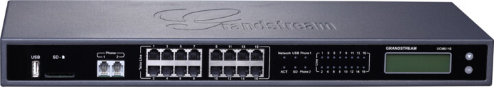 Grandstream UCM6116, IP pobočková ústředna