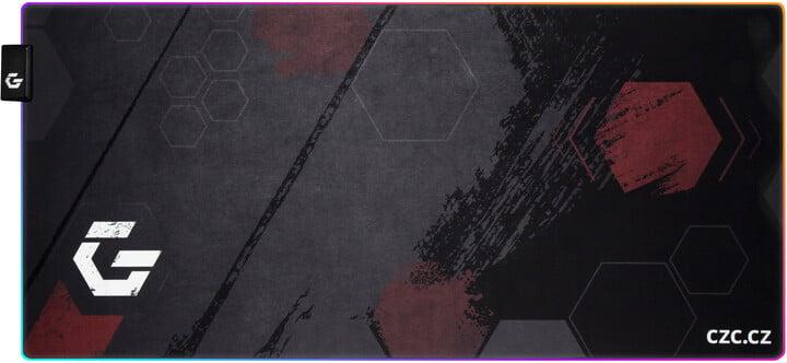 CZC.Gaming Barricade RGB XL, herní podložka