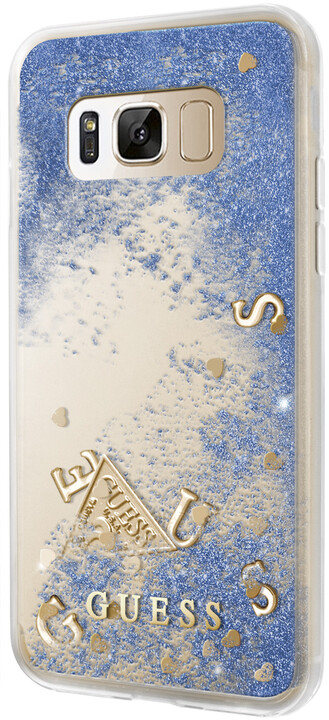 Guess Liquid Glitter TPU Case Galaxy S8, Purple