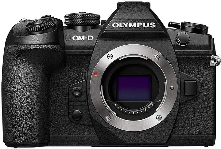 Olympus E-M1 Mark II, tělo, černá