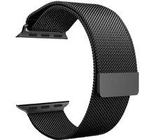 ESES milánský tah 42mm pro Apple Watch, černá