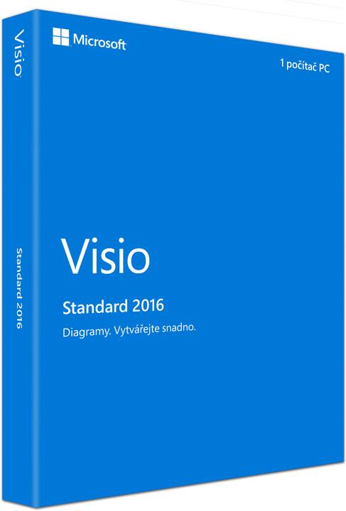 Microsoft Visio Standard 2016, (nekompatibilní s Office 2013)