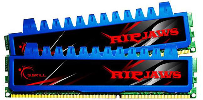 G.SKill RipjawsX 4GB (2x2GB) DDR3 1600 CL8