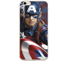 MARVEL Captain America 022 zadní kryt pro Huawei Y6 2019, multicolored MPCCAPAM7849