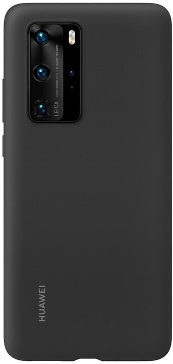 Huawei Original silikonové pouzdro pro P40 Pro, černá