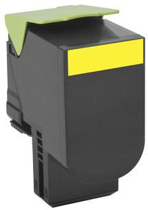 Lexmark 80C2HY0, žlutá, return