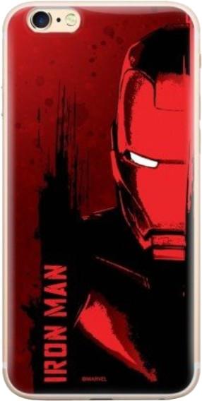 MARVEL Iron Man 004 zadní kryt pro iPhone XS, červená