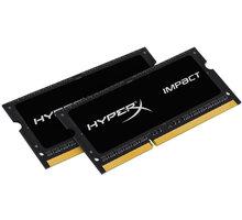 HyperX Impact Black 16GB (2x8GB) DDR3 1866 SO-DIMM CL 11 - HX318LS11IBK2/16