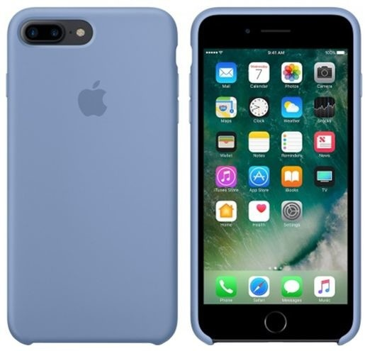 Apple iPhone 7 Plus/8 Plus Silicone Case, Azure