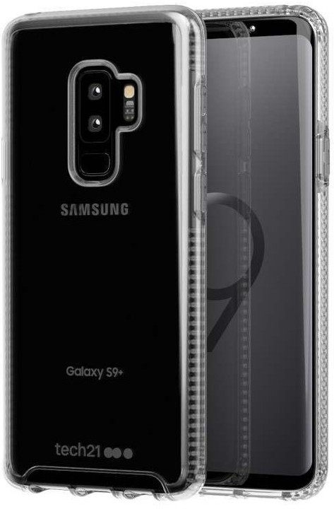Tech21 Pure Clear Samsung Galaxy S9+, čirá