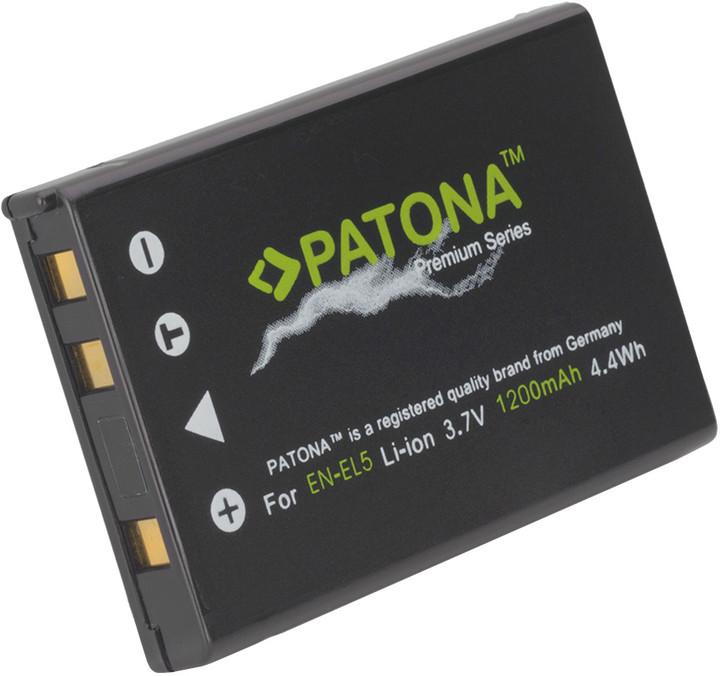 Patona baterie pro Nikon EN-EL5 1200mAh Li-Ion Premium
