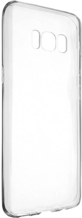 FIXED Skin ultratenké TPU gelové pouzdro pro Samsung Galaxy S8, 0,5 mm, čiré