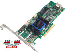 ADAPTEC RAID 6405 Single SAS 2/ SATA 2, PCI Express x8, 4 porty